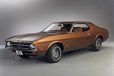 A Gallery of Ford Mustang Pictures