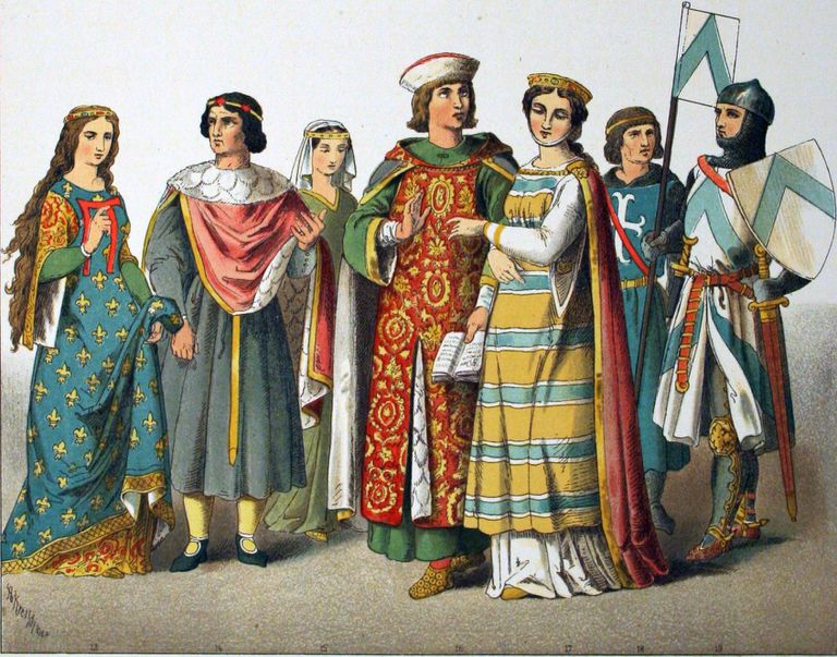 French Medieval Clothing
