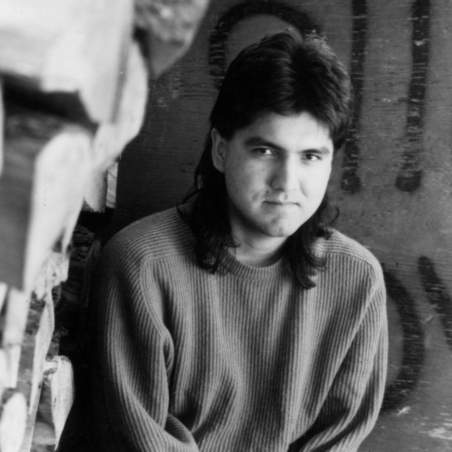 Sherman Alexie in 1995