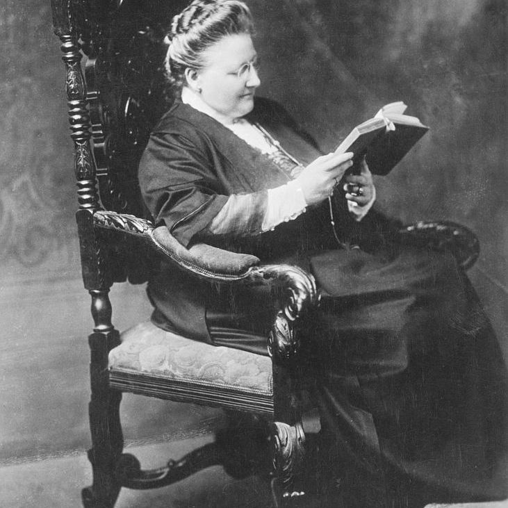 Amy Lowell Reading Book
