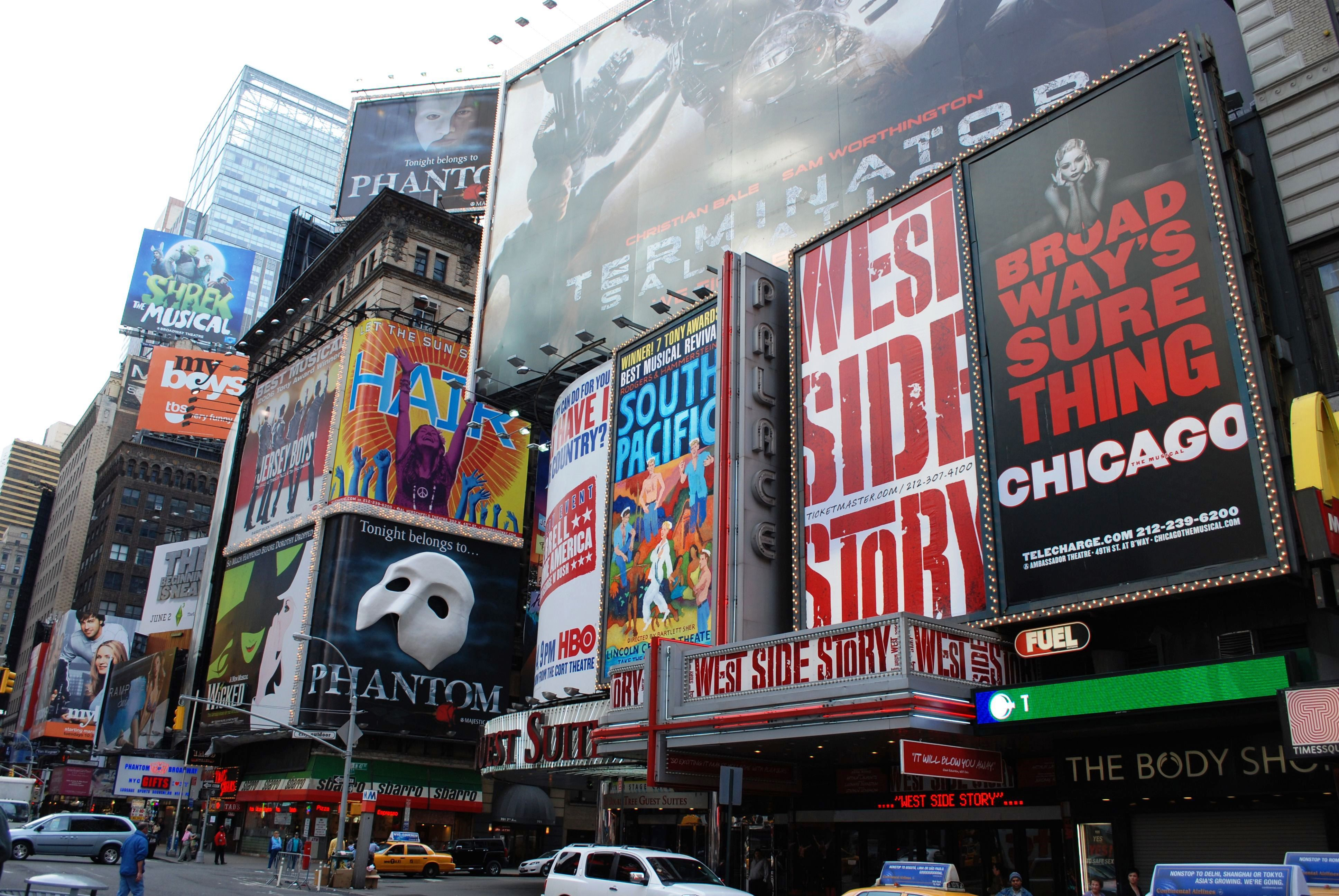 NYC Times Square Theater District