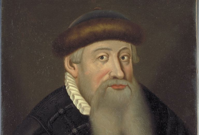 Portrait of Johannes Gutenberg