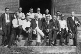 The Scopes trial jury