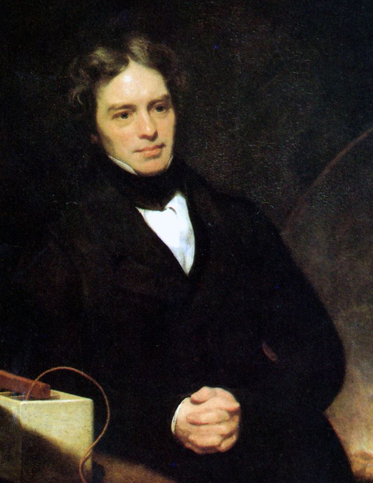 Michael Faraday portrait