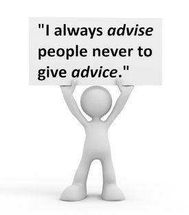 advice and advise