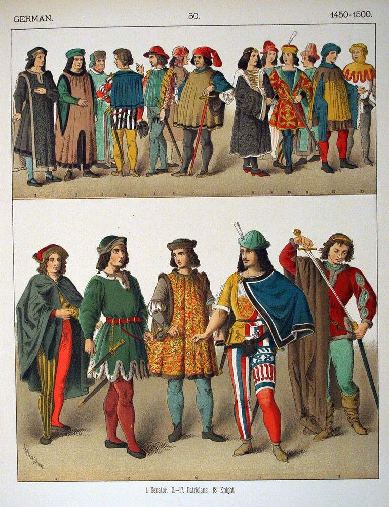 Costumes Of All Nations
