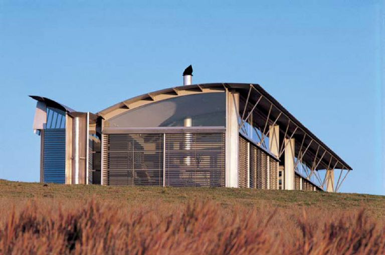 The Magney House, 1984, New South Wales, Australia, by Glenn Murcutt
