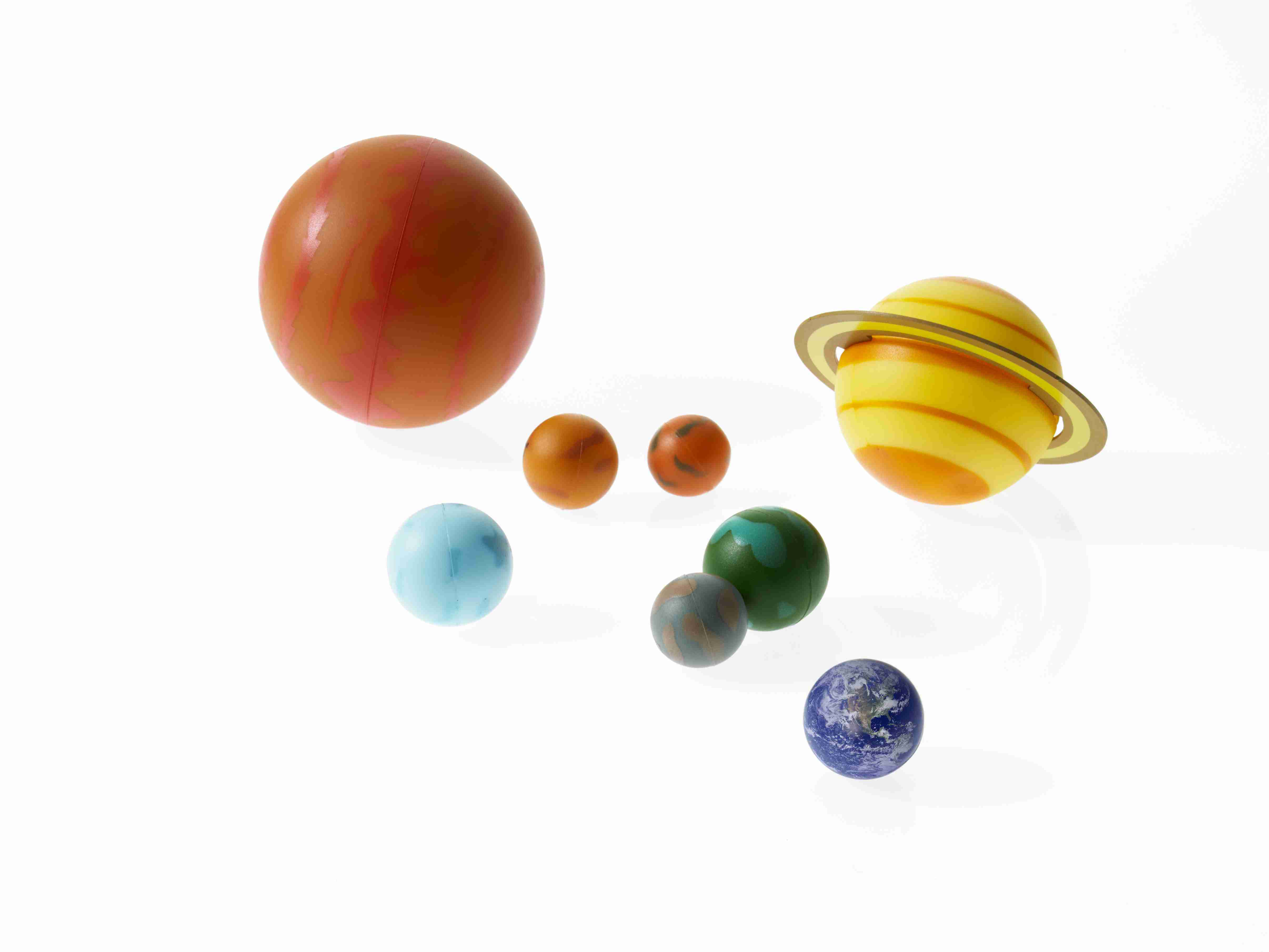 Learning about the solar system with models