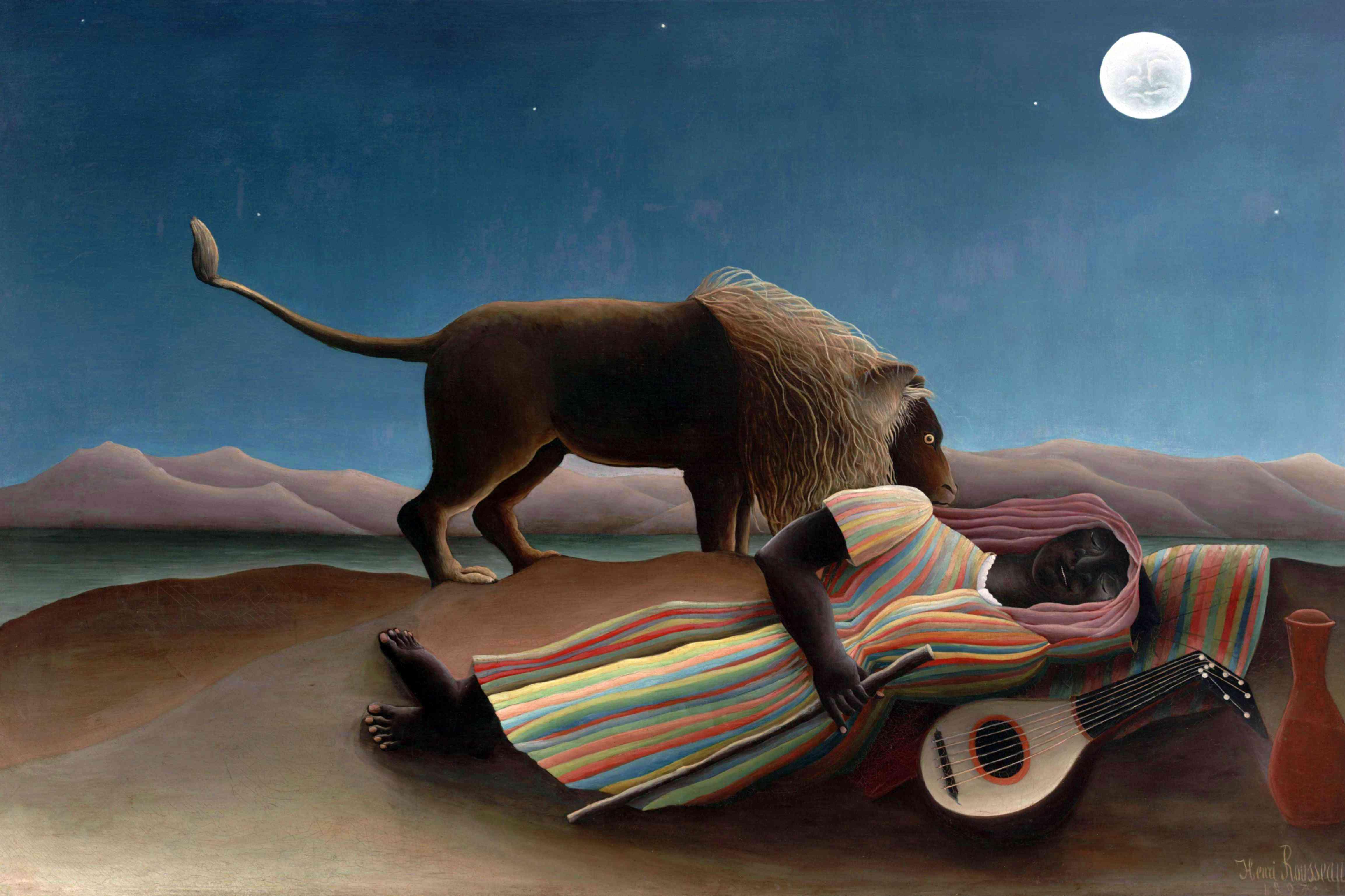 Rousseau's Sleeping Gypsy