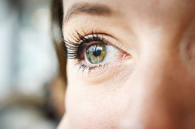 Cropped image of woman's eye