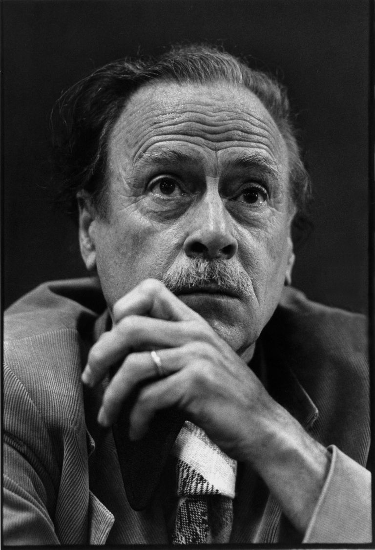 Marshall McLuhan (1911-1980), Canadian philosopher of communication theory