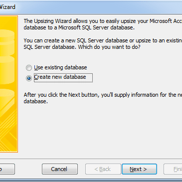 Converting an Access 2010 Database to SQL Server