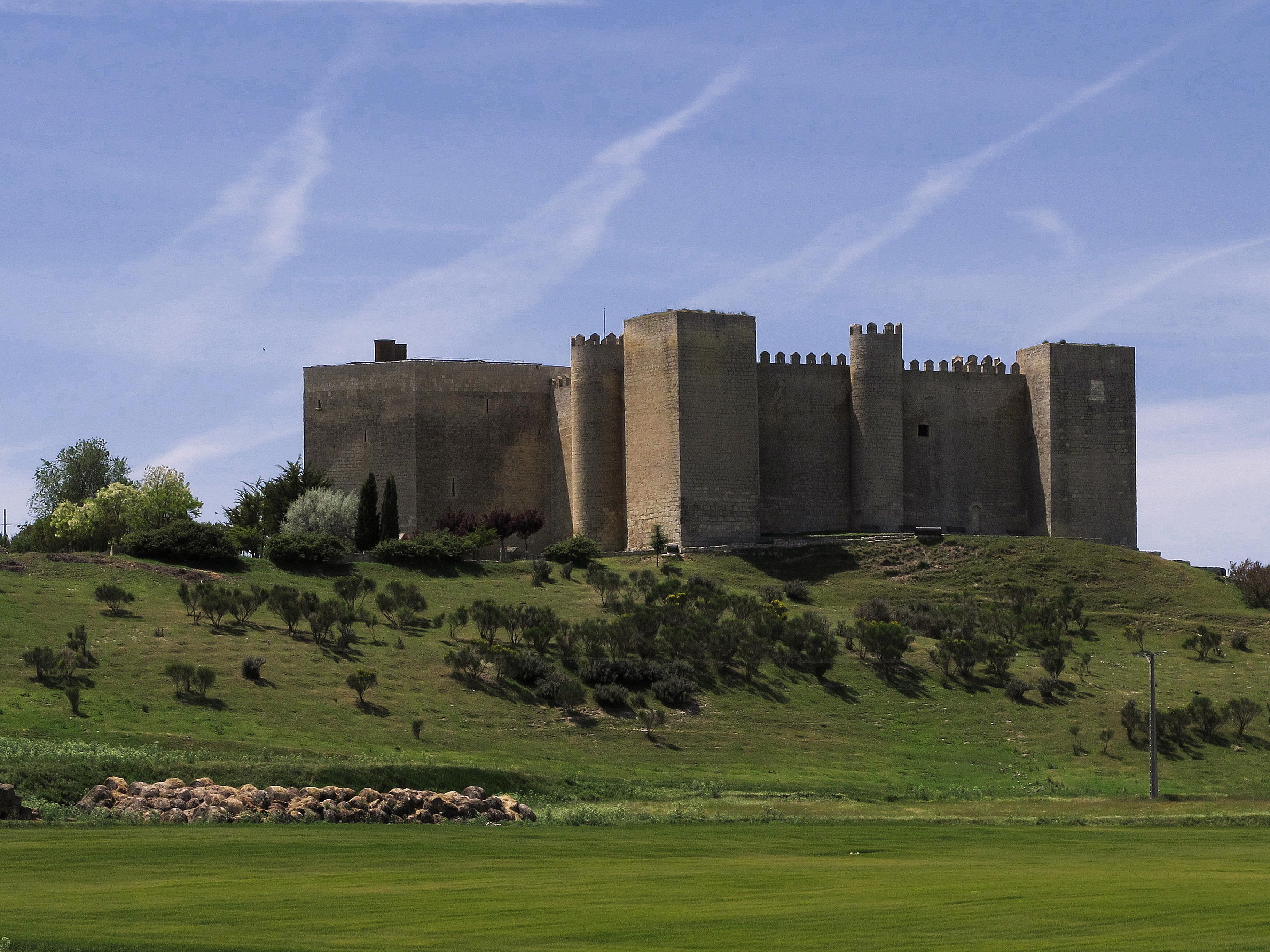 castle in Castile, Spain