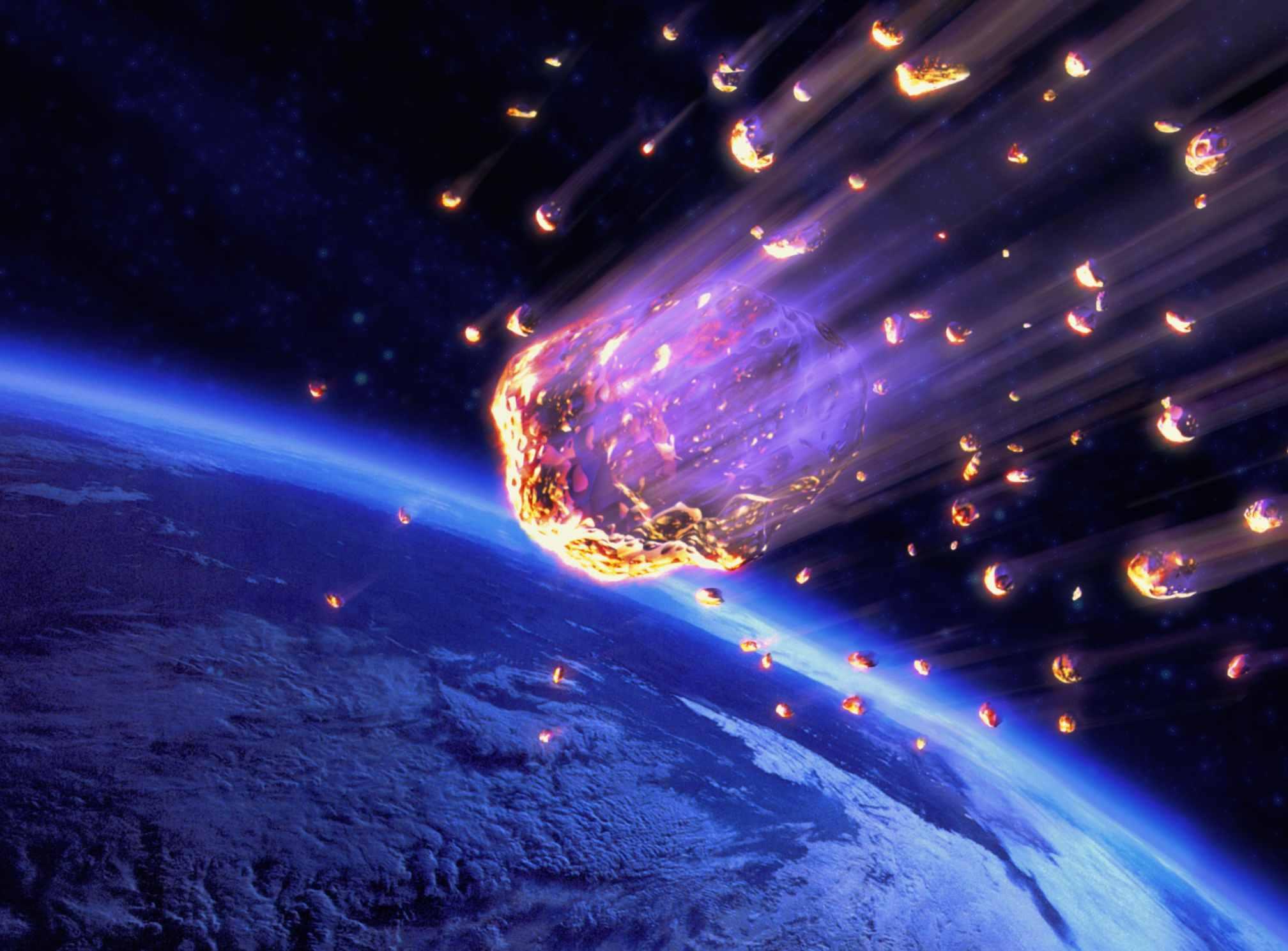 Meteor Shower Heading Toward Earth