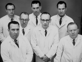 These engineers may look serious for the camera, but you can bet they know a lot of funny engineering jokes!