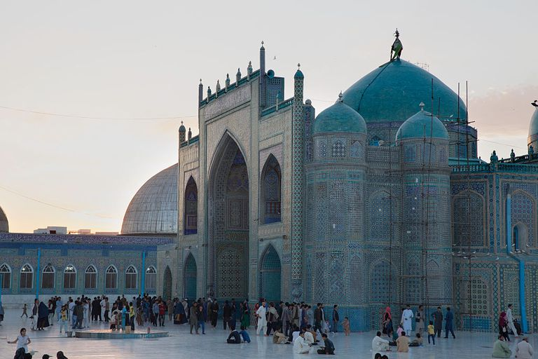 Blue Mosque In Mazar-I Sharif