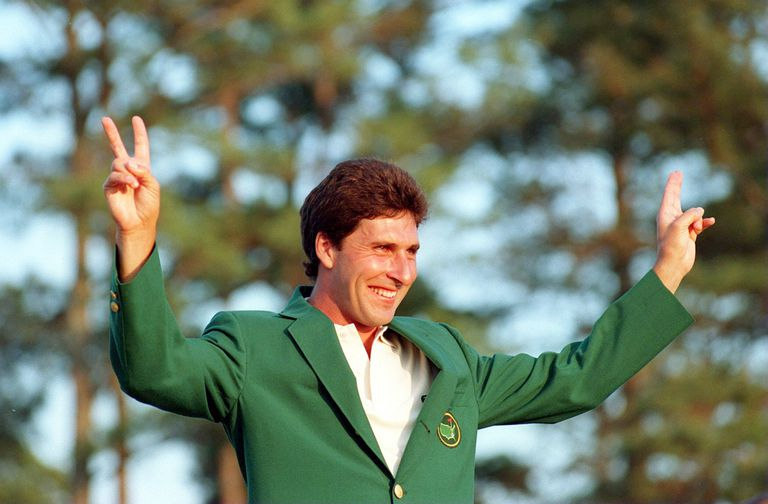 Jose Maria Olazabal in the Green Jacket