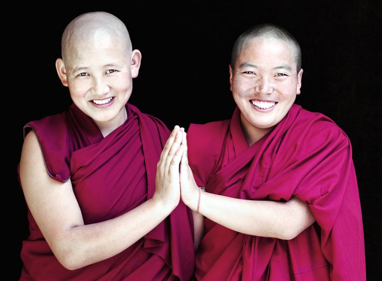 Two Tibetan Buddhist Nuns