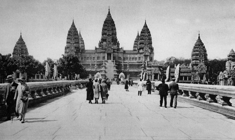 The French colonized Indochina, including Cambodia, for more than 50 years.
