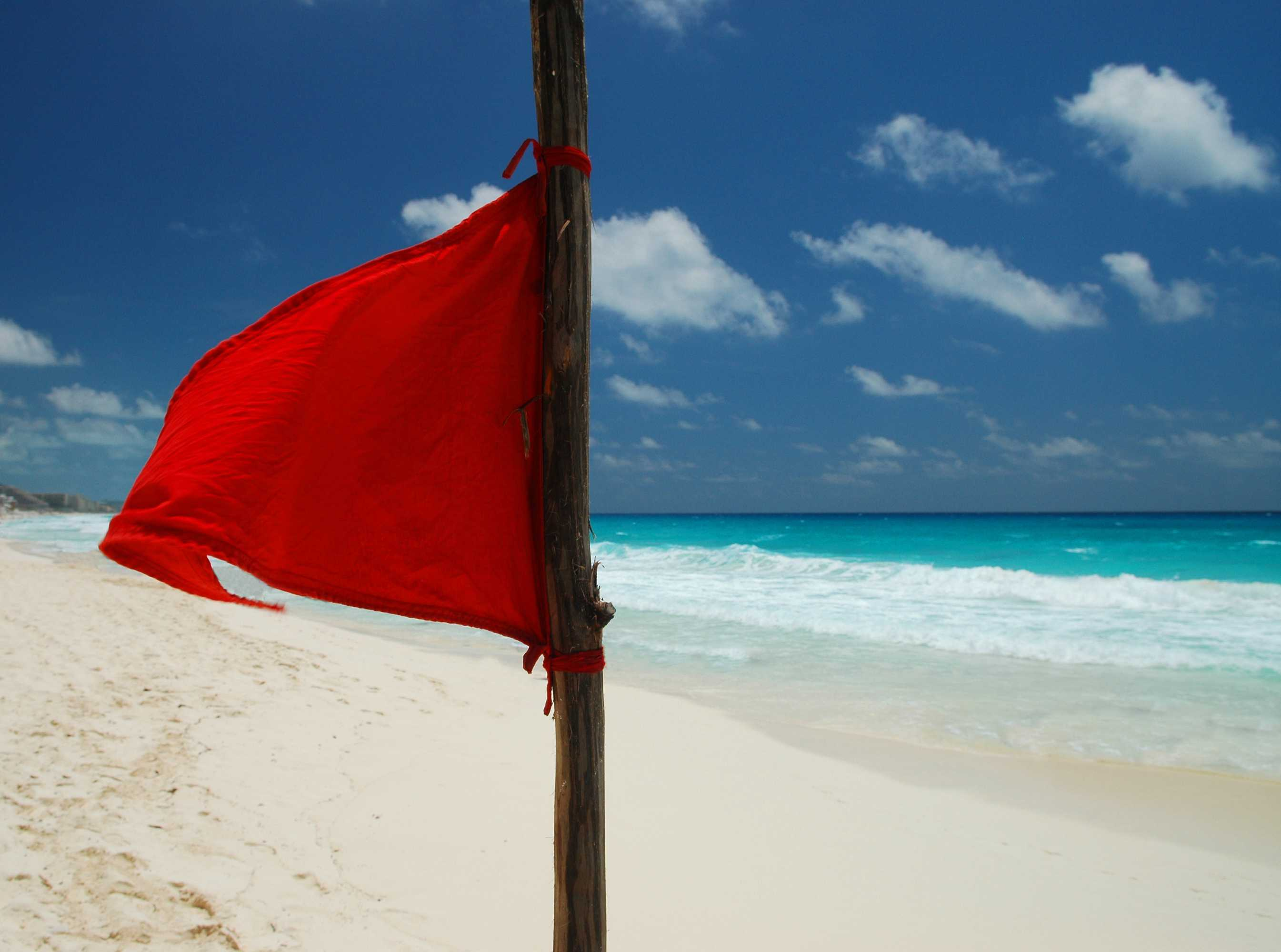 Big Red Flag