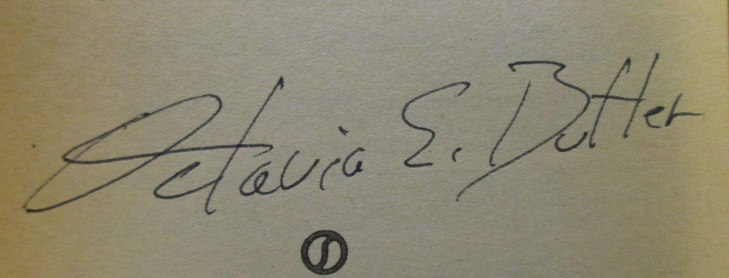 Octavia E. Butler's signature