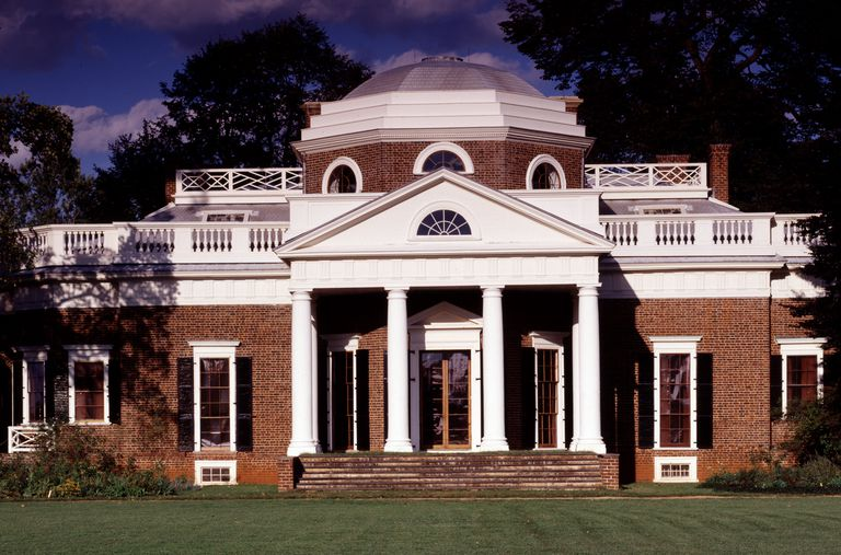 Monticello, Thomas Jefferson's Charlottesville, Virginia Home