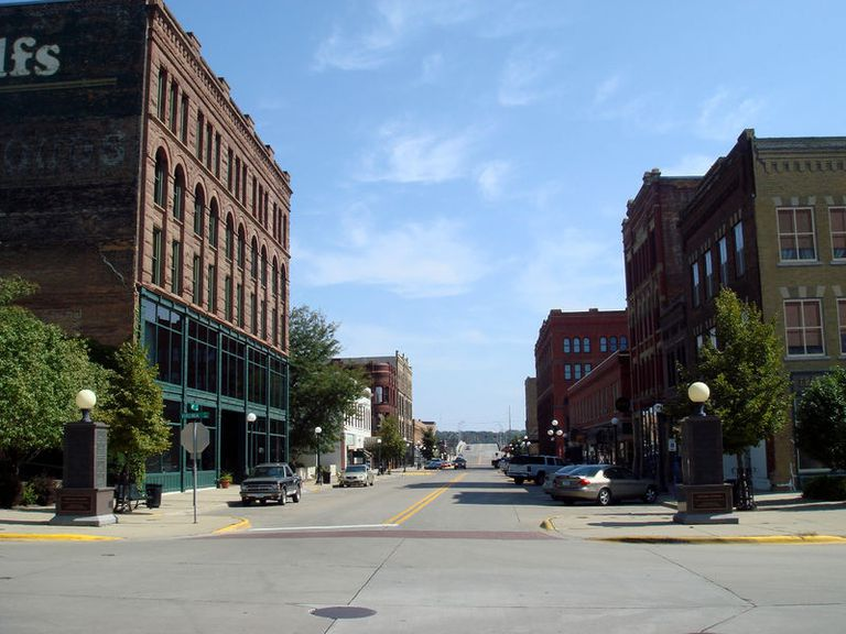 Downtown Sioux City, Iowa