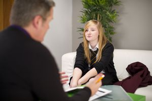 Private school admissions interview