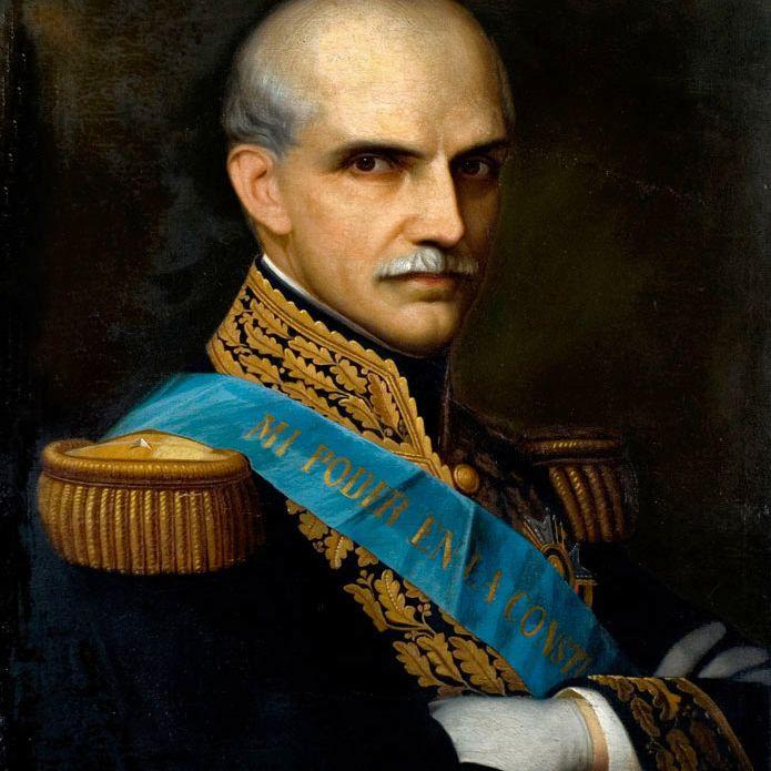 Former Ecuadorian president Gabriel garcía Moreno