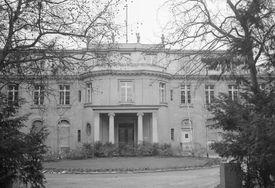Villa at Wansee where Nazi officials met