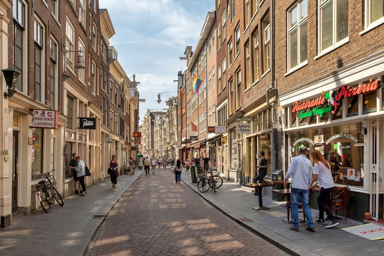A street in Amsterdam