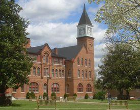 Seminary Hall at Northeastern State University