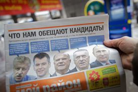 Russians Prepare For Presidential Election