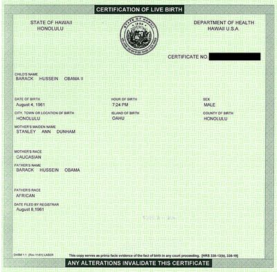 get a certified copy of your birth certificate