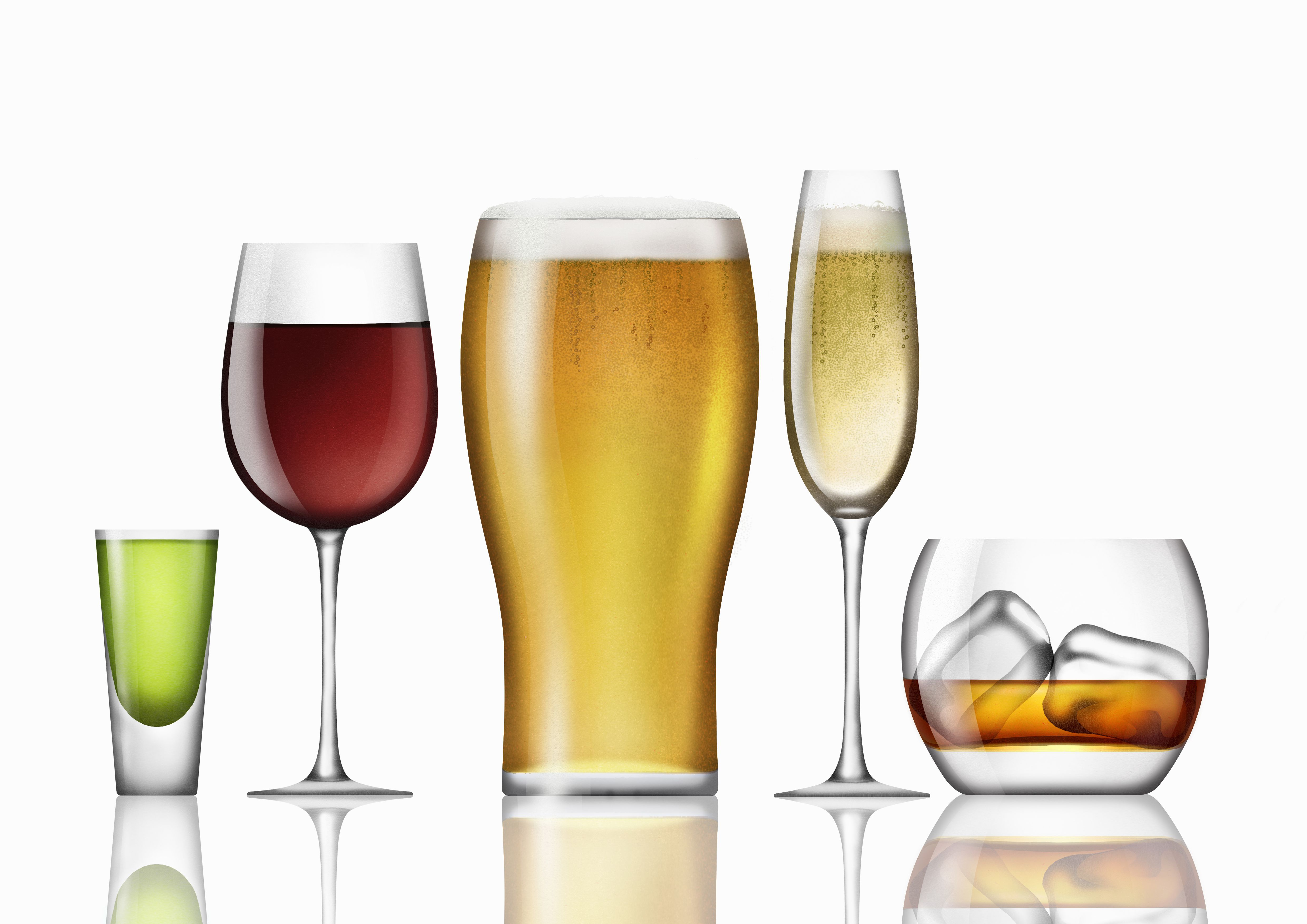 Where Do Alcoholic Beverages Come From?