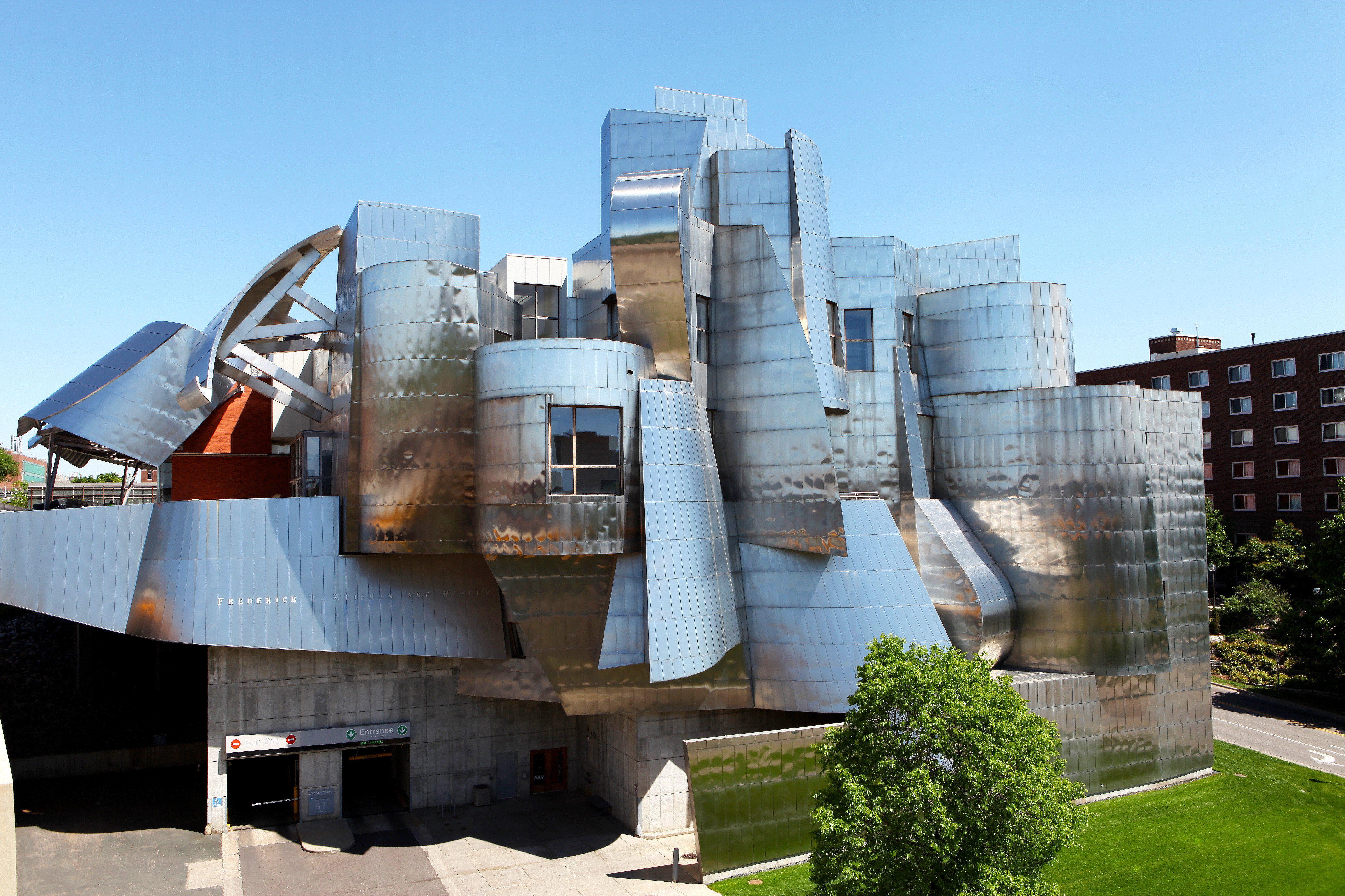Frederick Frank Gehry A. Weisman Art Museum, University of Minnesota, Minneapolis