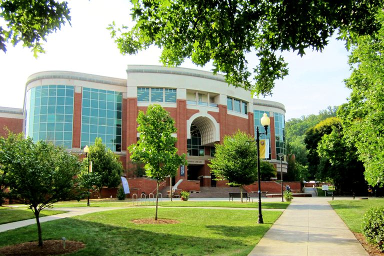 Eastern Tennessee State University Library