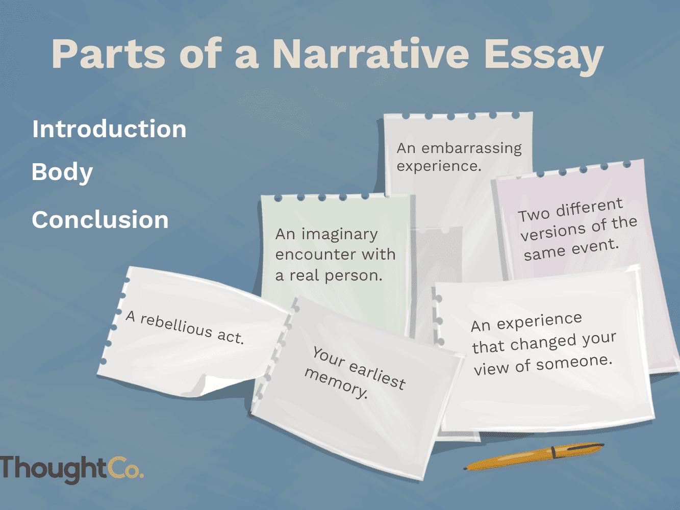 How to Write a Narrative Essay or Speech