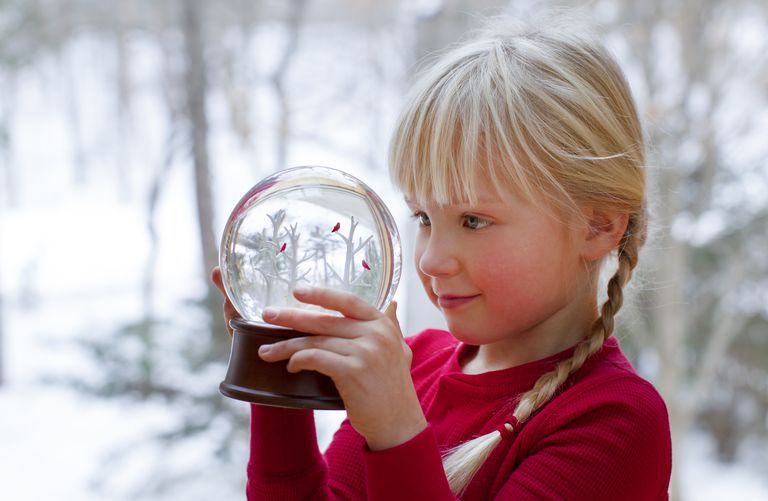 You can precipitate a safe chemical to make crystal snow for a snow globe.