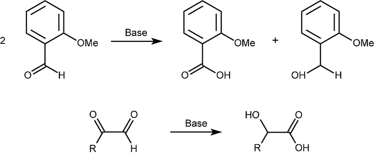 This is the general form of the Cannizzaro reaction.