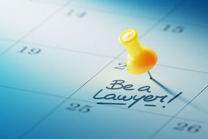 Calendar Concept with a yellow pin