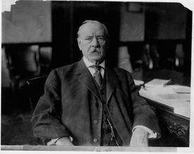 Grover Cleveland at Desk