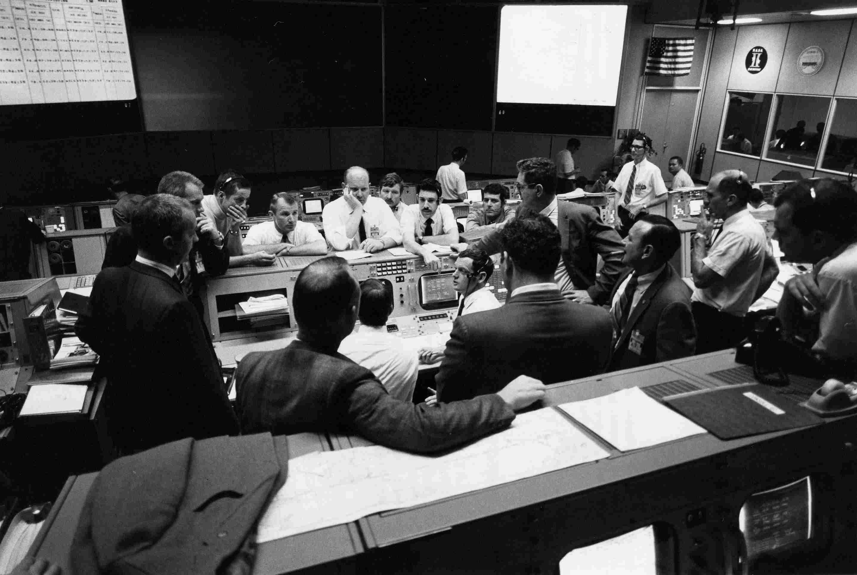 Apollo 13 Mission control in Houston