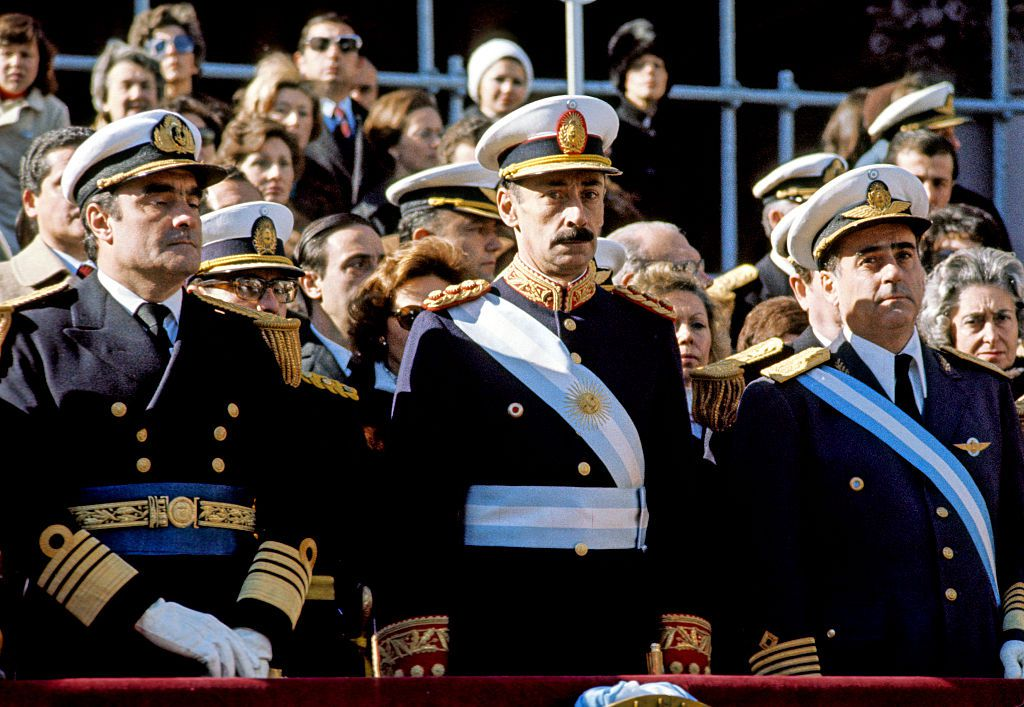 Under the rule of this military junta, up to 30,000 people went missing in Argentina.