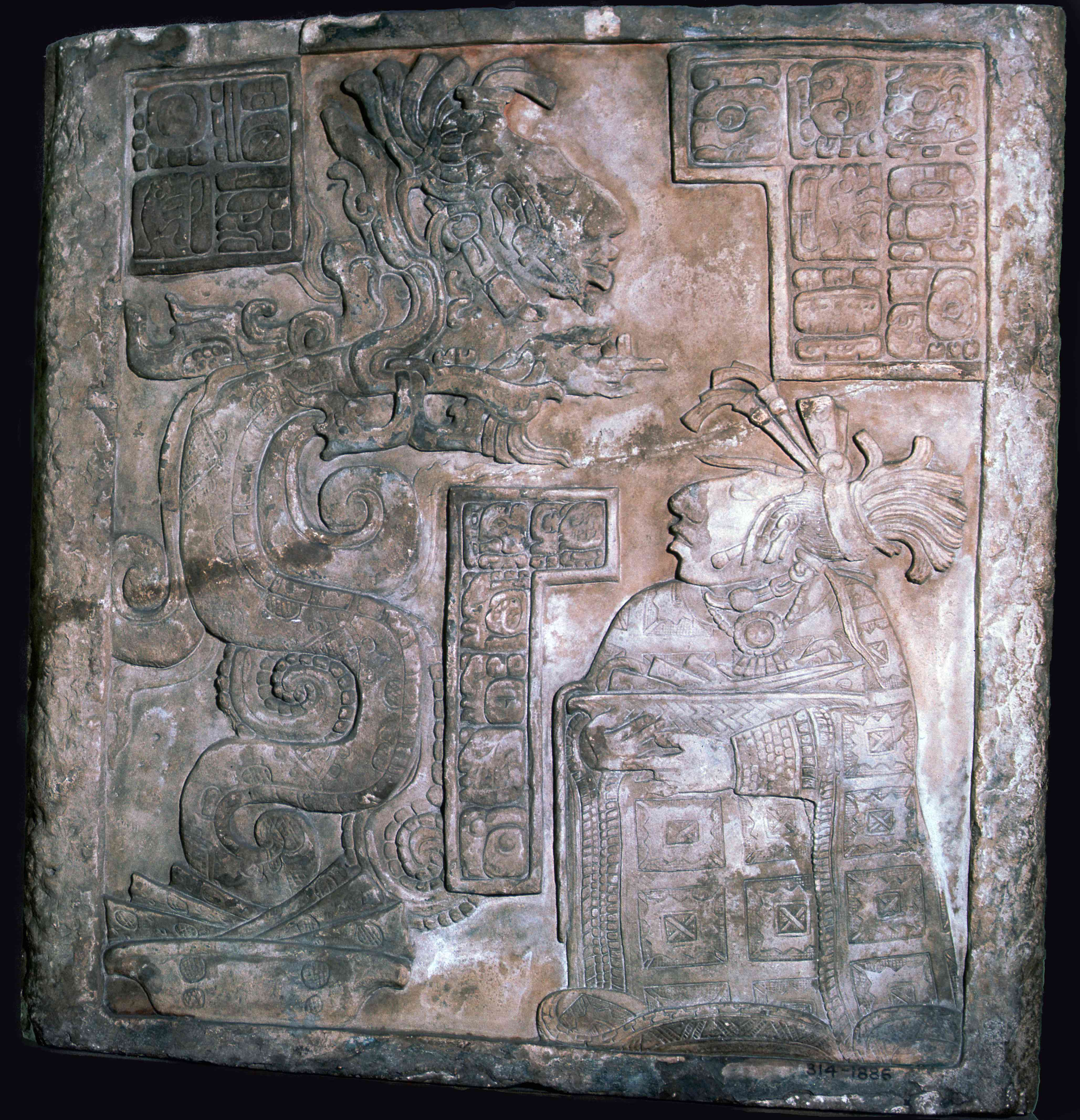 The Yaxchilan Lintels, 8th century.