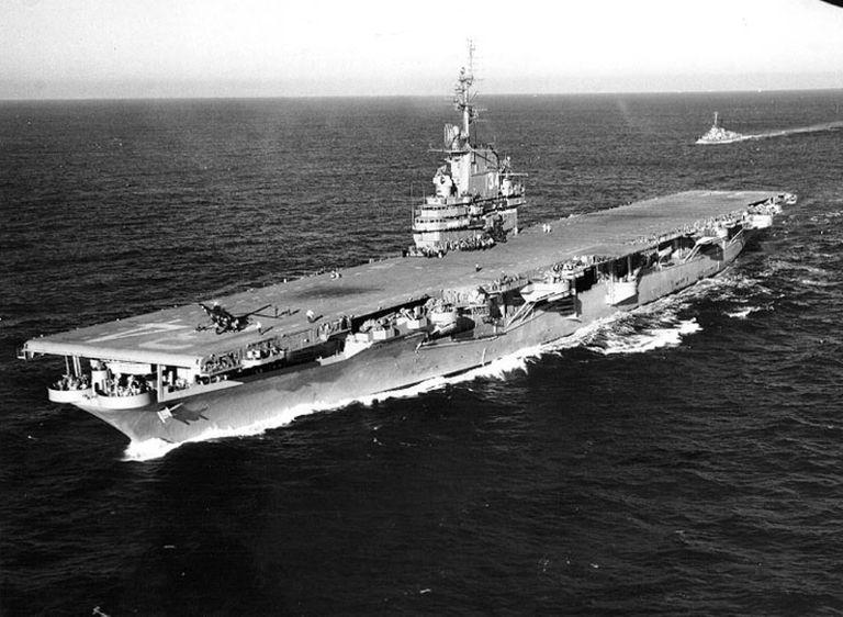 USS Oriskany CV-34 US NavyAircraft Carrier