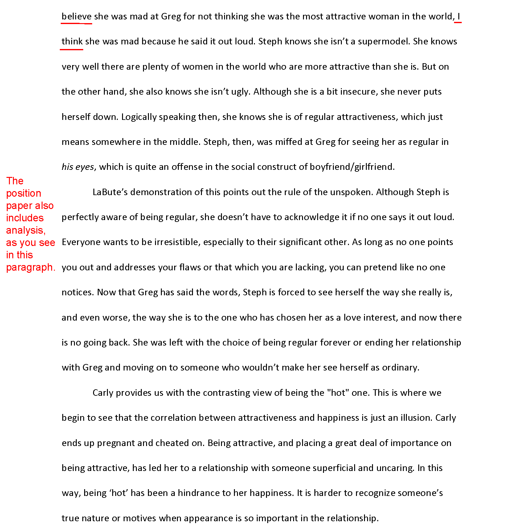 How To Write A Response Paper Expressing Your Position Clearly