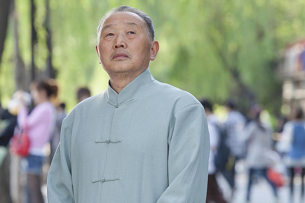Retrato de hombre mayor en Houhai