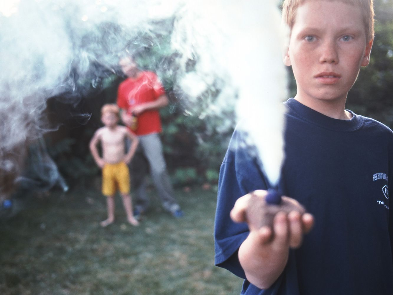 How to Make a Smoke Bomb