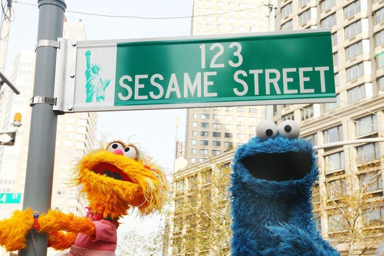 'Sesame Street' 40th Anniversary Temporary Street Renaming